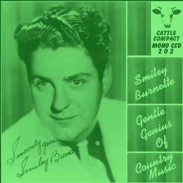 Smiley Burnette - Gentle Genius Of Country Music = Cattle LP 203