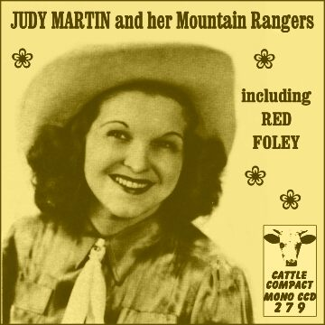 Judy Martin and her Mountain Rangers incl. Red Foley = Cattle CCD 279