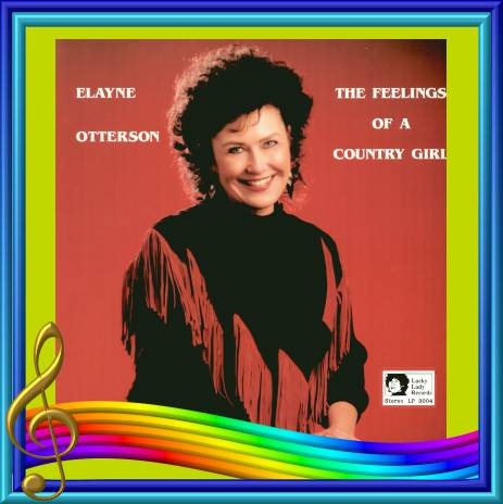 Elayne Otterson - The Feelings Of A Country Girl = Lucky Lady LP 3004